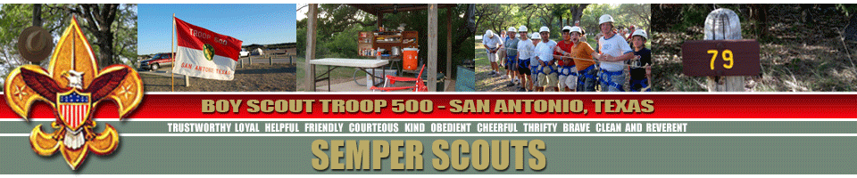 BSA Troop 500 - Welcome to Scouting!